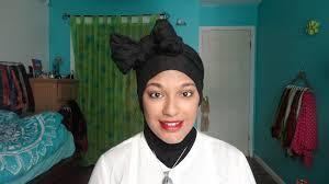 download video tutorial hijab turban bow scarf turban hijab headwrap tutorial youtube