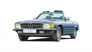 mercedes benz r107 c107 sl club drive