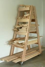 Wood Magazine Ladder Shelf Plans by Easy Portable Lumber Rack Free Diy Plans Lumber Rack Free And
