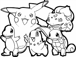awesome pokemon coloring pages pikachu ideas printable coloring