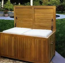 Patio Cushion Storage Teak Cushion Storage Box By Kingsley Bate Open Room Furniture