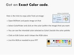 100 get color code from ms paint how to find the rgb color