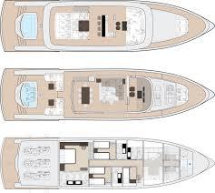 luxury yacht floor plans dynamiq gtm 90