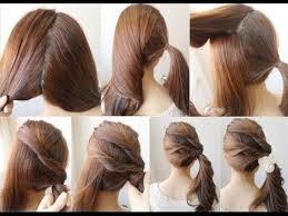 tutorial menata rambut panjang simple video cara kreatif menata rambut dengan mudah dan tampil cantik