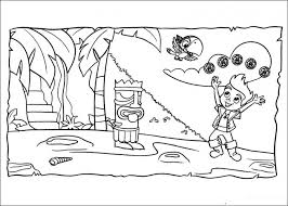 20 free printable jake neverland pirates coloring pages