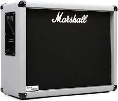 marshall 2x12 vertical slant guitar cabinet marshall 2536 silver jubilee cab 140 watt 2x12 horizontal extension