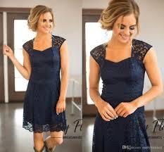 dark navy new country style bridesmaid dresses 2017 modest full