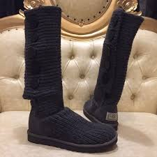 s cardy ugg boots grey 25 ugg boots authentic ugg gray cardy 5 buttons knitted