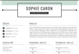 personal resume template the best cv resume templates 50 exles design shack