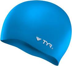 wrinkle free silicone swim cap tyr