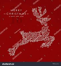 merry and happy new year card background ne wall