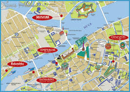 map with attractions moscow map tourist attractions travelsfinders