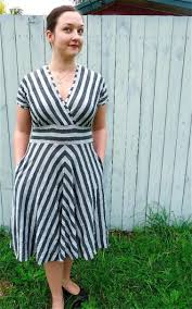 pairing fabrics with sewing patterns