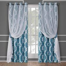 Sheer Navy Curtains Curtain Shop Curtains Drapes At Lowes Comavy Blue Sheer Length