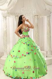 dresses for sweet 15 green sweet 15 dresses with appliques decorate sweet