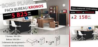 bureau kitea maroc kitea bons plans pack bureau kronos prix a seulement 5825 dh ht