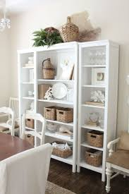 top 25 best coastal dining rooms ideas on pinterest beach styling a bookshelf using neutrals dining room bookshelves hmm
