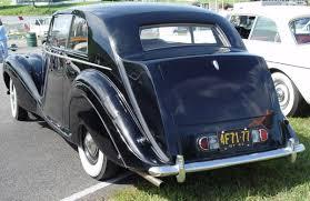 black bentley back 1947 bentley mk vi sports saloon black rear angle