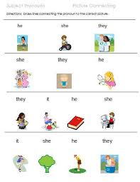ideas of possessive pronouns worksheets for kindergarten in
