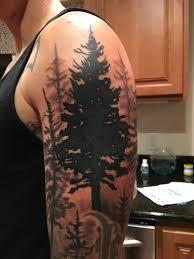 the benson journey half sleeve tree