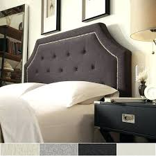 King Size Fabric Headboards by Headboard Black Leather Upholstered Headboard Great Black Tufted