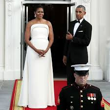 obama dresses barack and obama s wedding photos a look back at their
