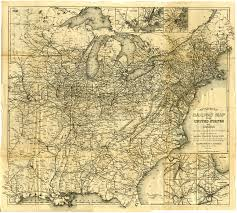 United States And Canada Map by File Appleton U0027s Railway Map Of The United States And Canada 1871