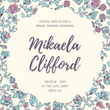 for bridal shower customize 136 bridal shower invitation templates online canva
