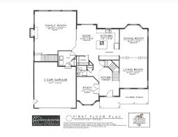 Floor Plan Front View by Mohawk Hills Development Judith Ann Realty Inc