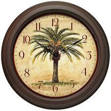 cozy tropical themed wall clock 114 themed wall clocks uk