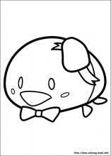 tsum tsum coloring pages coloring book tsumtsum