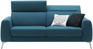 sofa bed contemporary leather fabric boconcept