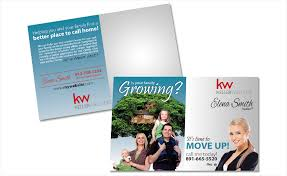 personalized postcards keller williams postcards keller williams postcard templates