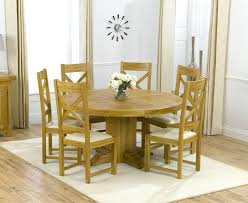 Circle Dining Table And Chairs Circular Dining Tables And Chairs