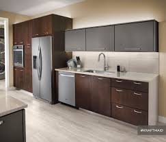 this kitchen features quartersawn cherry cabinet doors with a