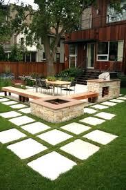 Landscape Ideas For Sloping Backyard Patio Ideas Backyard Desert Landscaping Ideas On A Budget