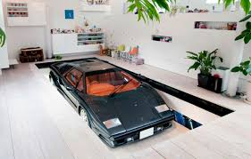 multifunctional garage as game room and mini bar creative garage