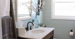 Benjamin Moore Palladian Blue Bathroom Horizontal Wood Plank Walls In Benjamin Moore Palladian Blue
