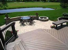 Deck With Patio Designs Patio And Deck Combinations Columbus Columbus Decks Porches And