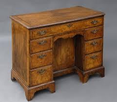 Pictures Of Antique Desks English Walnut Ladies Kneehole Antique Desk Antique Desks