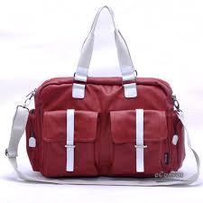 womens travel bags images Travel tote bag for women men bag coated canvas shoulder bag e jpg