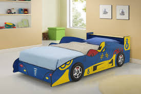 blue race car beds for children kfs stores