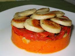 cuisiner boudin blanc timbale de boudin blanc carottes et poivrons au cumin la cuisine