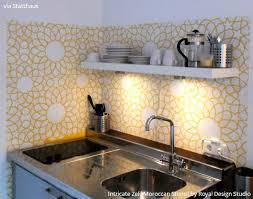 kitchen stencil ideas 14 pretty easy ideas for diy decorating with kitchen stencils