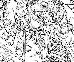 batman joker coloring pages face coloring pages