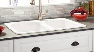 cast iron drop in sink awesome white drop in kitchen sink 32 berwick double bowl cast iron