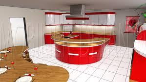 modele cuisine avec ilot bar cuisine americaine avec ilot et bar urbantrott com