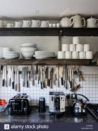 modern kitchen detail shelving stock photos u0026 modern kitchen