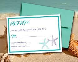 Regency Wedding Invitations Beach Wedding Rsvp Template Response Card