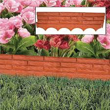 plastic garden edging ideas brick brick wall garden border edging